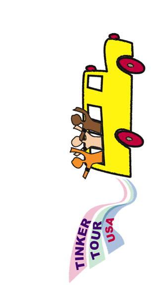Tinker logo, Rosa