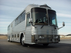 Neil Young's bio-bus