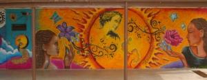 Student artwork at Road to Success Academy, Santa Clarita, CA