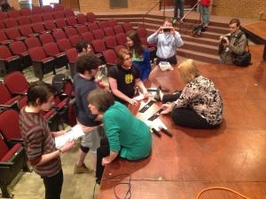 autographs at Ames