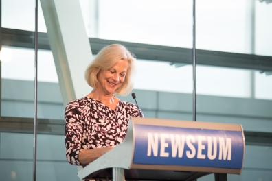 Christie Hefner hosted the Hugh Hefner Foundation  First Amendment Awards and reception at the Newseum.  Tuesday May 20th, 2014.  Photo by Ben Droz.