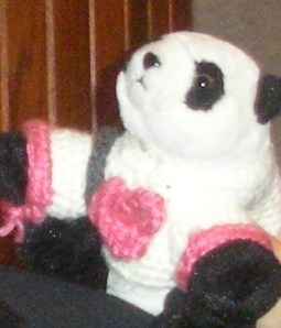 Bao Bao with her armband