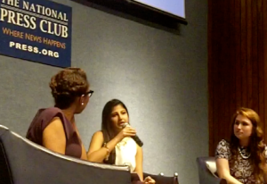 Audie Cornish, of NPR,  interviews Tanvi Kumar & Gillian McGoldrick