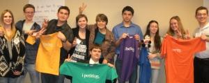 Phoenix HS students at the AZ Bar Foundation