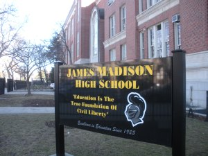 At James Madison HS, students keep the Bill of Rights alive!