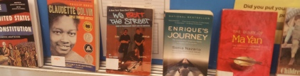A few of the great books Francis Parker students study