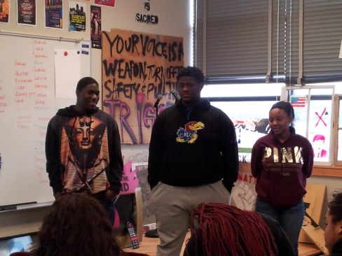"Jevion, Nick and Neshef: with ""Please don't be scared of me"" compare lynching to violence against black youth by police"