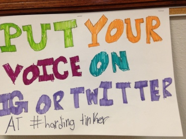 Harding students tweet!