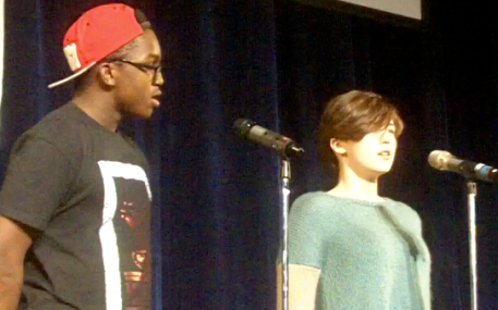 "Poets Chloe and Christian share their power and truth in ""Rise Up!"""
