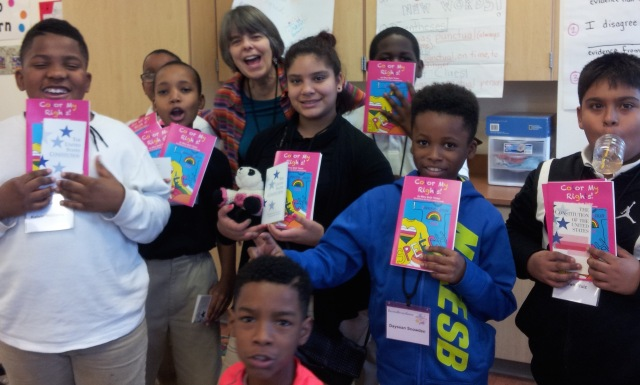 Good times with Langley Elementary students, Washington DC.