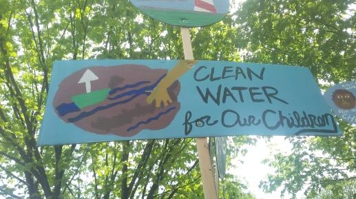 Clean water for children